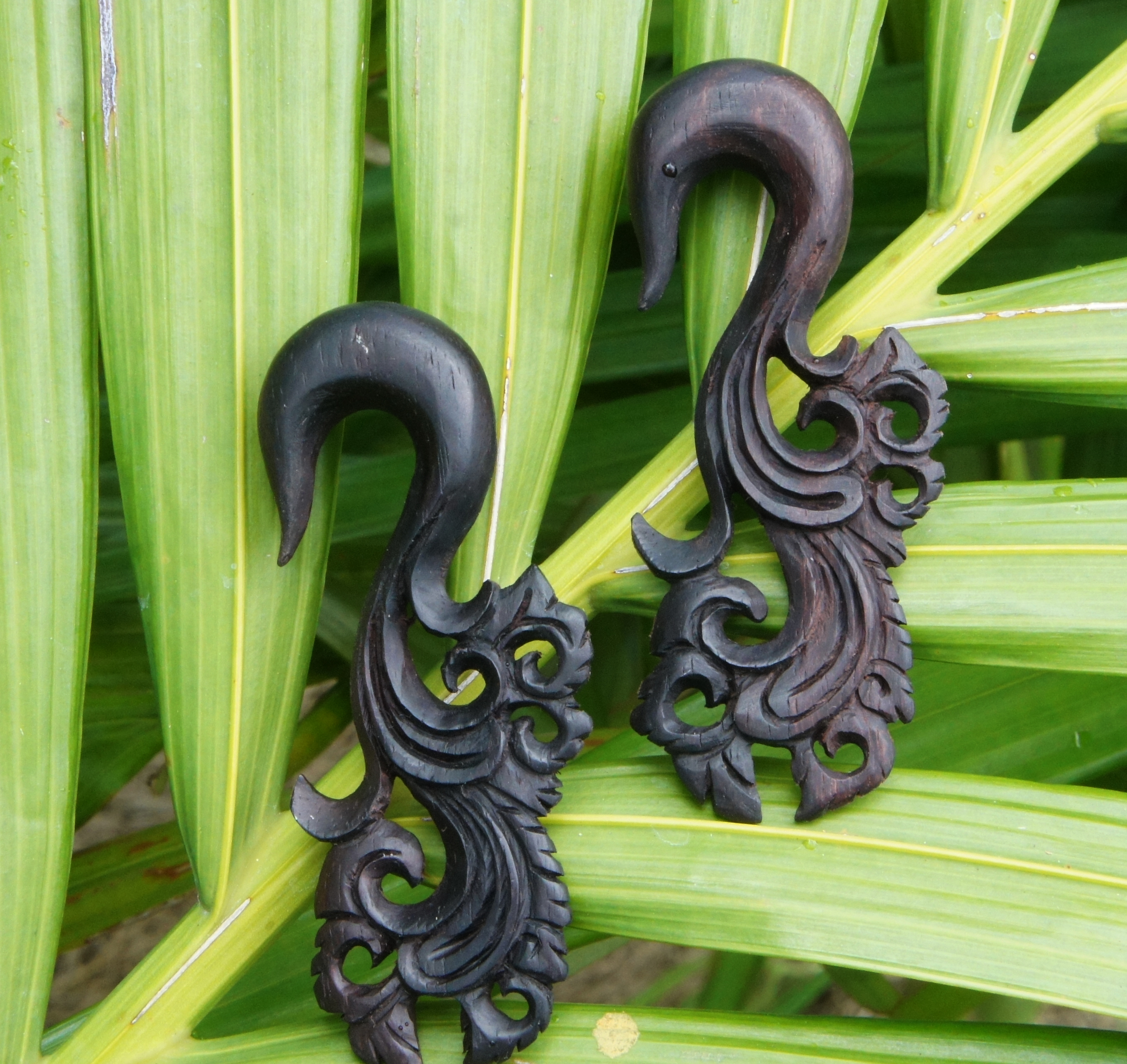 Sono Wood Floral Carved Hangers