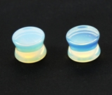 Opalite Saddle Plugs