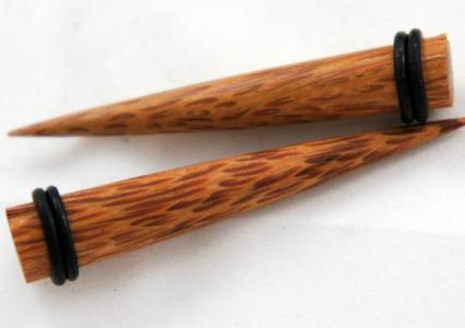 Coconut Wood Organic Taper