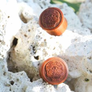 Sono Wood Sugar Skull Plugs