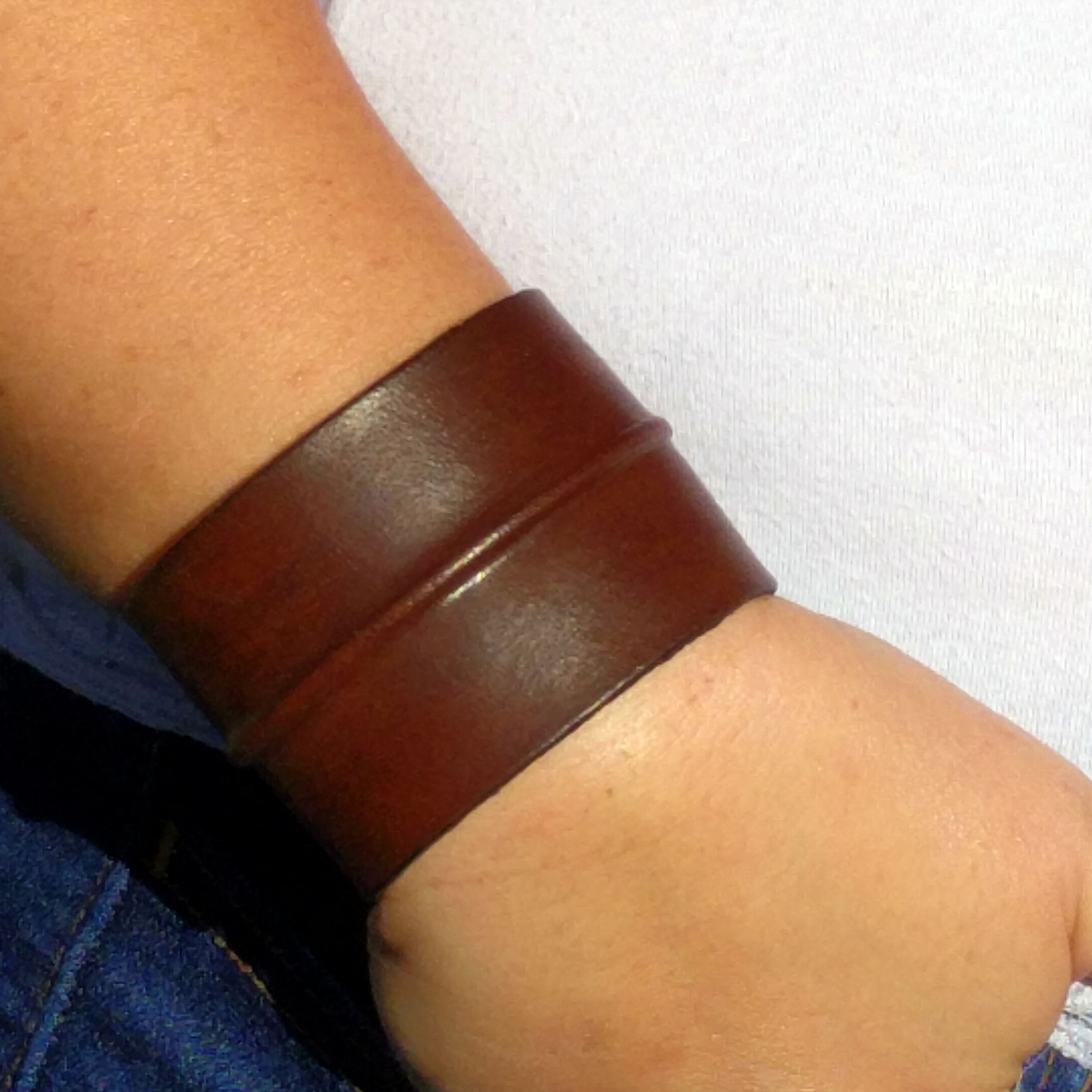 Bendable Double Striped Simple Bangle