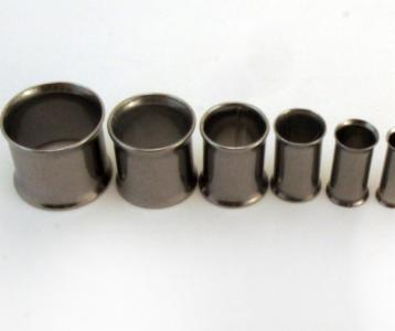 Paired Set Stainless Steel Double Flared Eyelet Tunnel