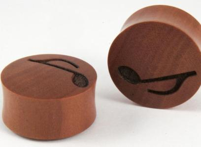 Sono Wood Music Note Plug