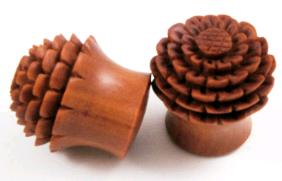 Sono Wood Flower Bud Plug