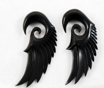 Horn Feathered Wing Hangers
