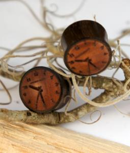 Sono Wood Clock Plugs